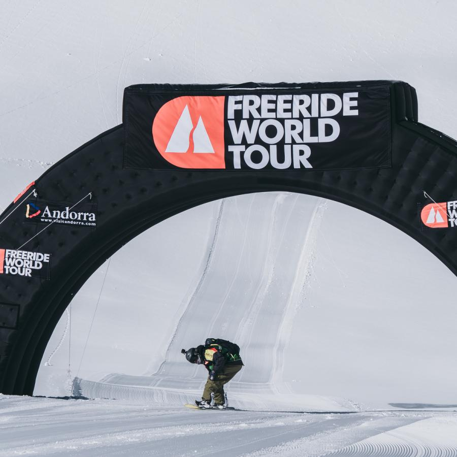 Freeride World Tour Ordino-Arcalís, Andorra 2020